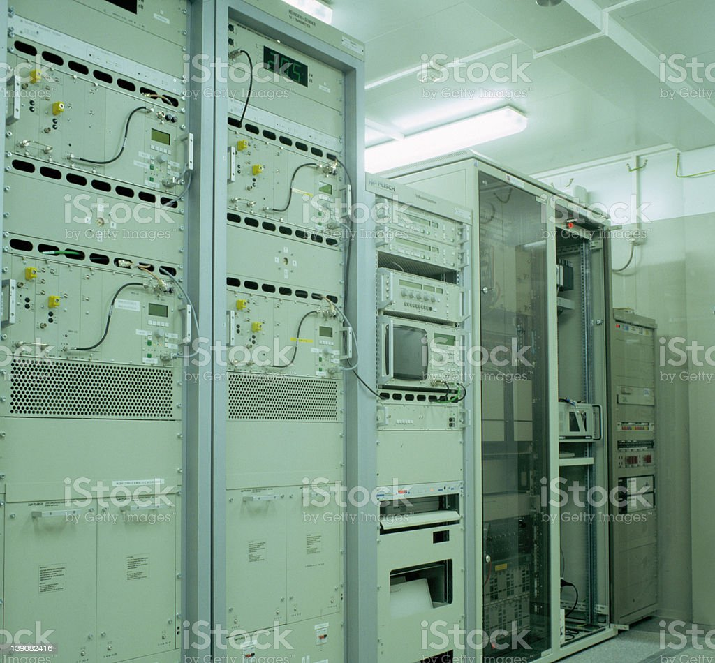 Automation room royalty-free stock photo