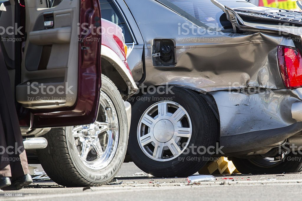 Automobile Accident stock photo