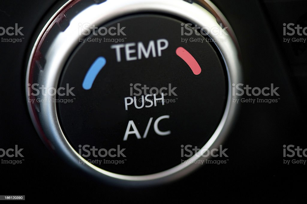 Automobile air conditioner royalty-free stock photo