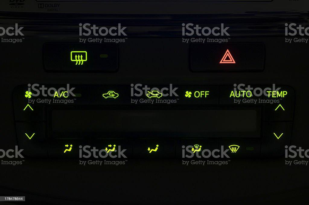 Automobile air stock photo