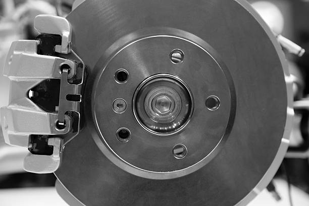 automobile disque de frein - disque de frein photos et images de collection