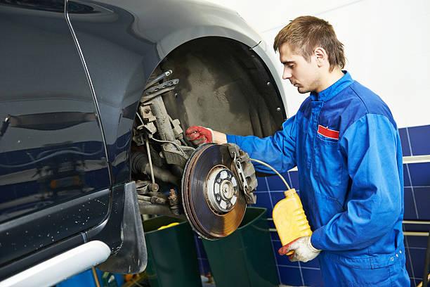 Automobile Bremse liquid ersetzen – Foto