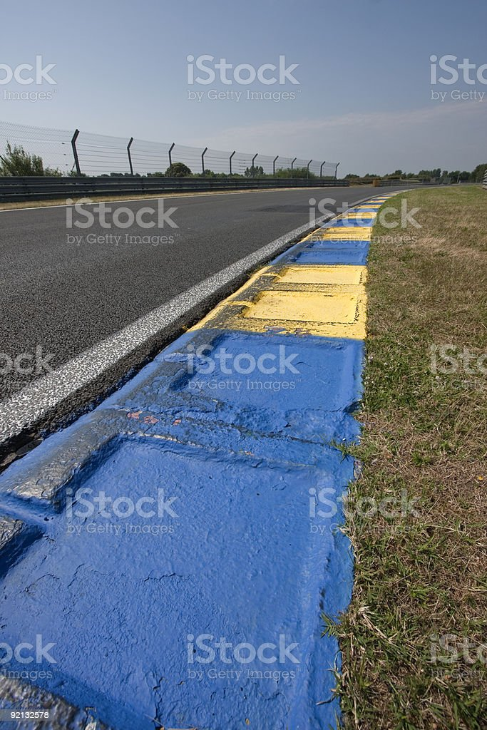 Automobile circuit stock photo