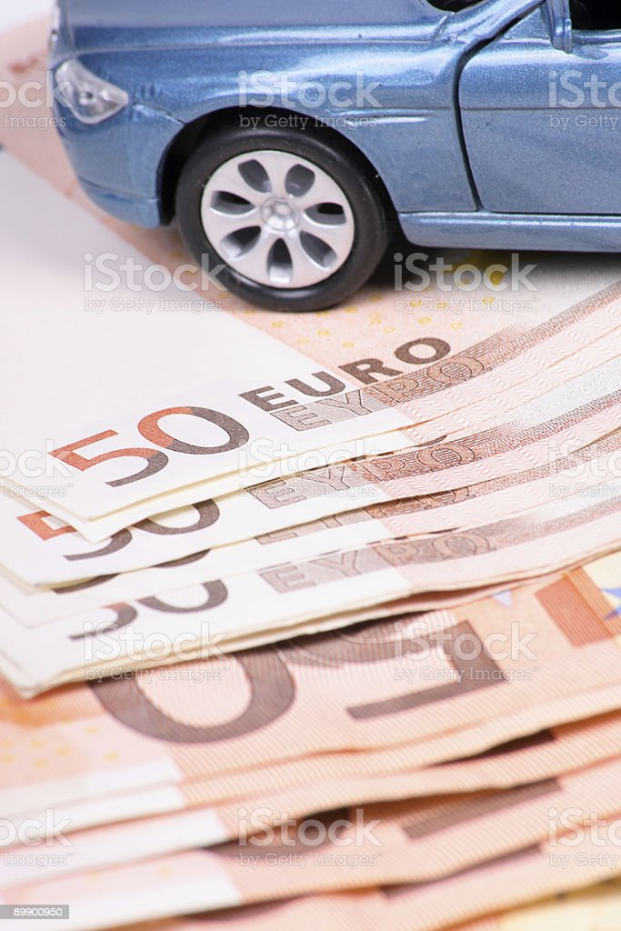 Automobile Costs royalty-free stock photo