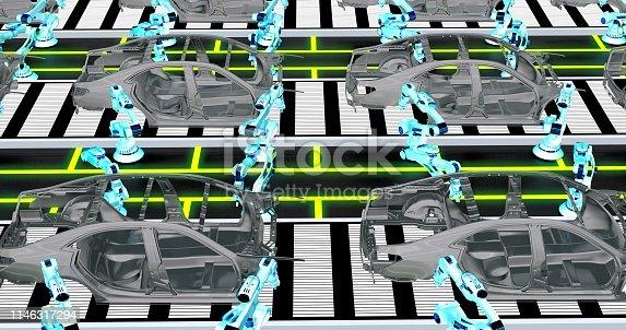 155373435 istock photo Automobile Industry 1146317294