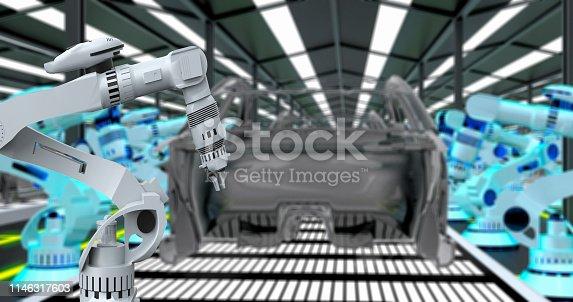 155373435 istock photo Automobile Industry 1146317603