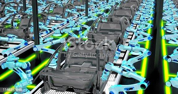 155373435 istock photo Automobile Industry 1146317645