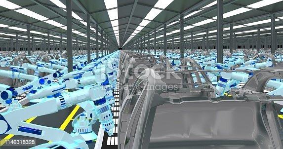 155373435 istock photo Automobile Industry 1146318328