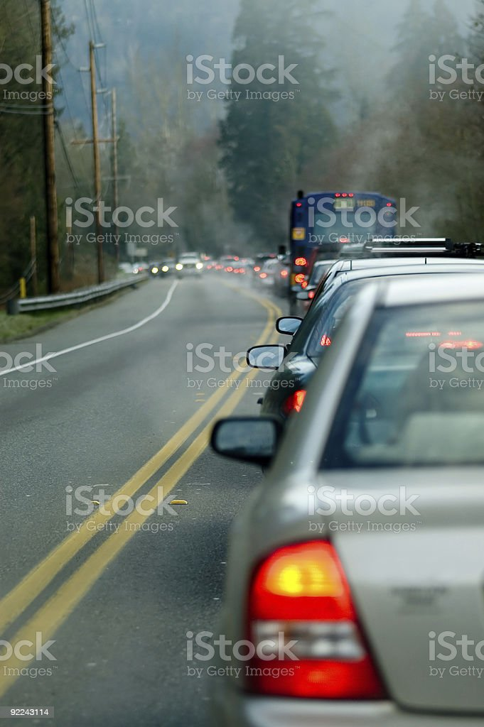 Automobile - Morning Traffic 1 stock photo
