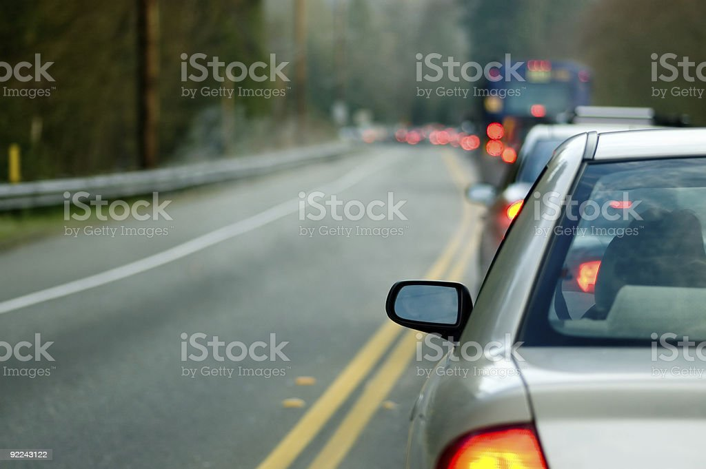Automobile - Morning Traffic 3 royalty-free stock photo