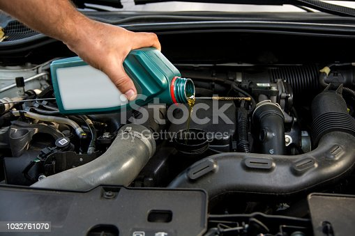 automobile oil changing