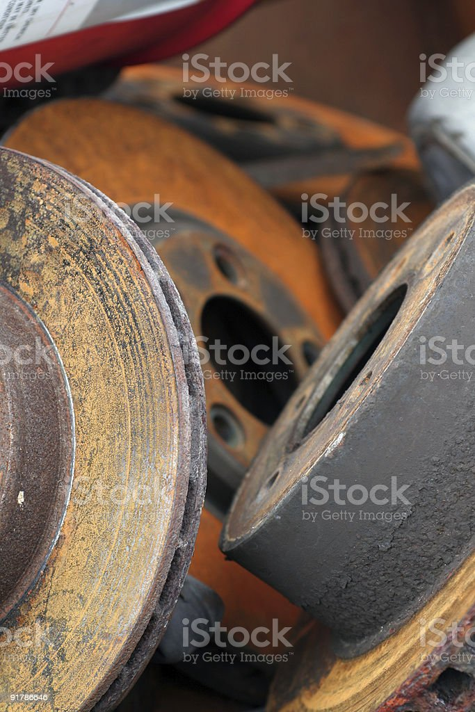 Automobile Parts royalty-free stock photo