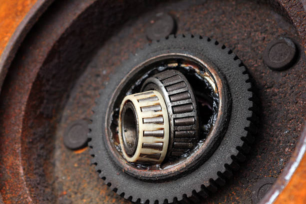 Automobile Parts - Wheel Bearing  ball bearing stock pictures, royalty-free photos & images