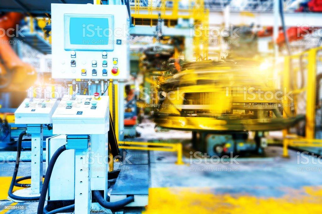 Automobil-Produktion-Industrie – Foto