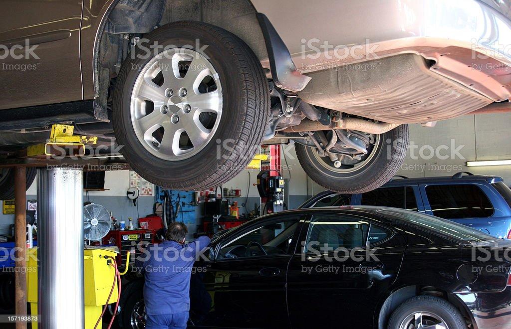 Automobile Repair royalty-free stock photo