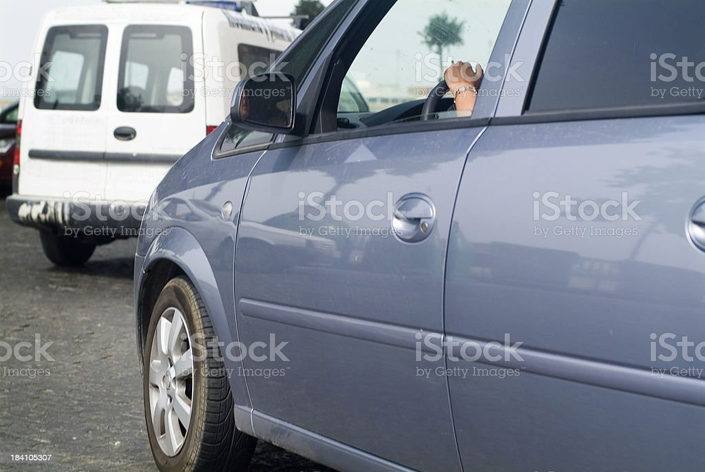 Automobile Traffic stock photo