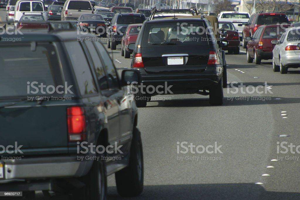 Automobile Traffic #2 royalty-free stock photo