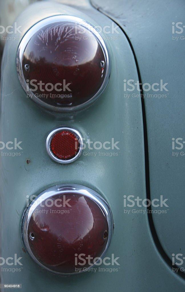 Automobile - Vintage Auto Tail Light