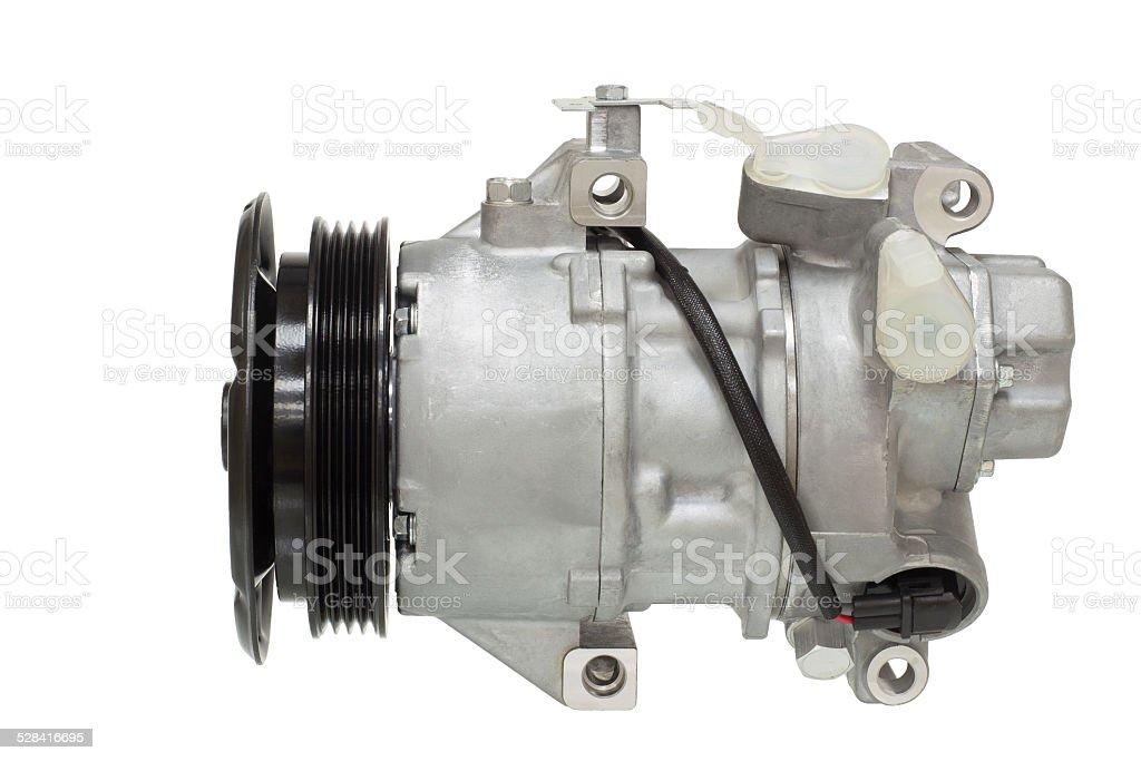automotive air conditioning compressor stock photo