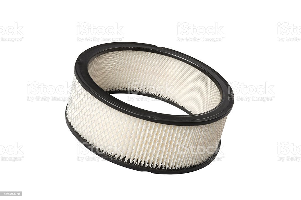 Automotive Air Filter royalty-free stock photo