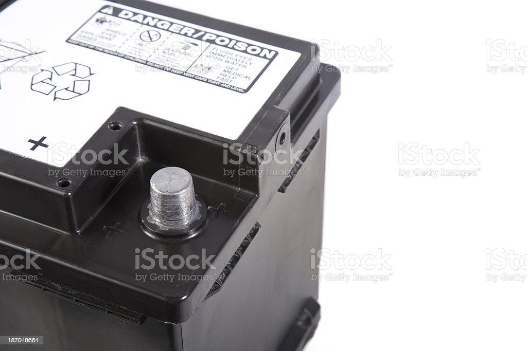 Baterías de automoción - foto de stock