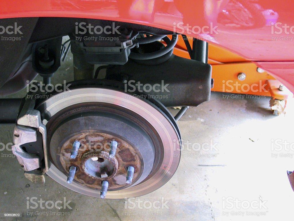 Automotive Brake Rotor royalty-free stock photo