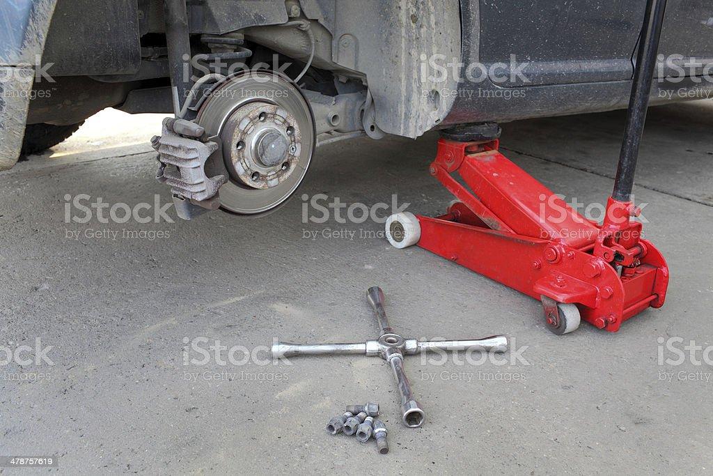 Automotive, brakes stock photo