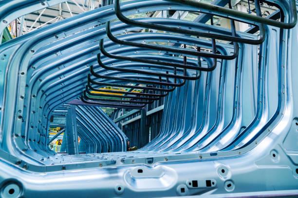 Automotive components: housings stock photo