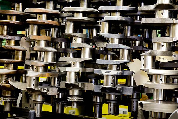 Automotive Crankshafts stock photo