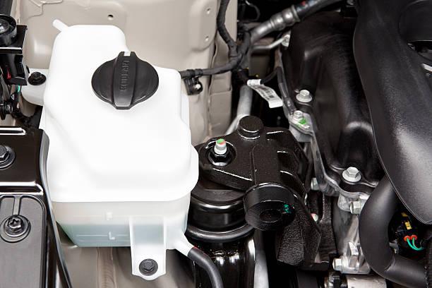 Débardeur moteur automobile glacial - Photo