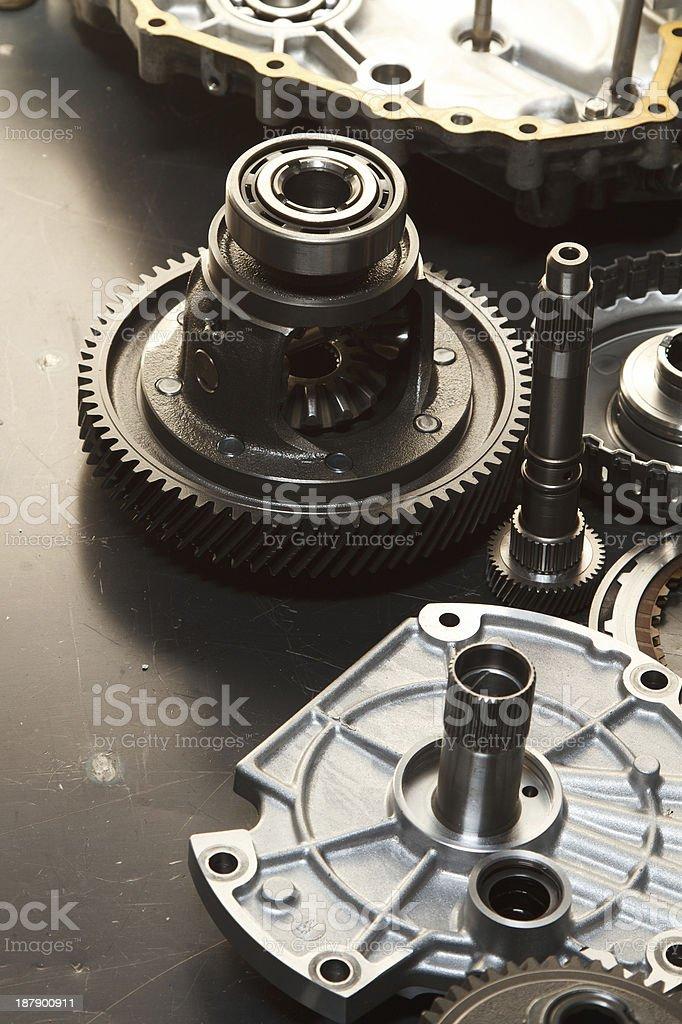 automotive gears. stock photo