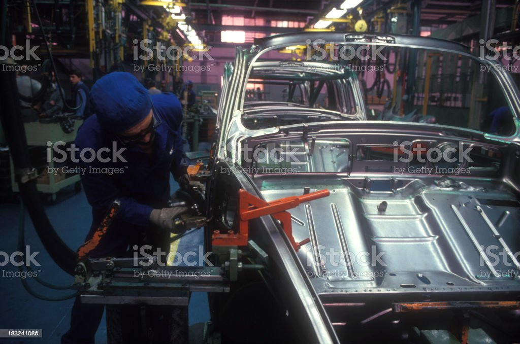 Automotive Industry royalty-free stock photo