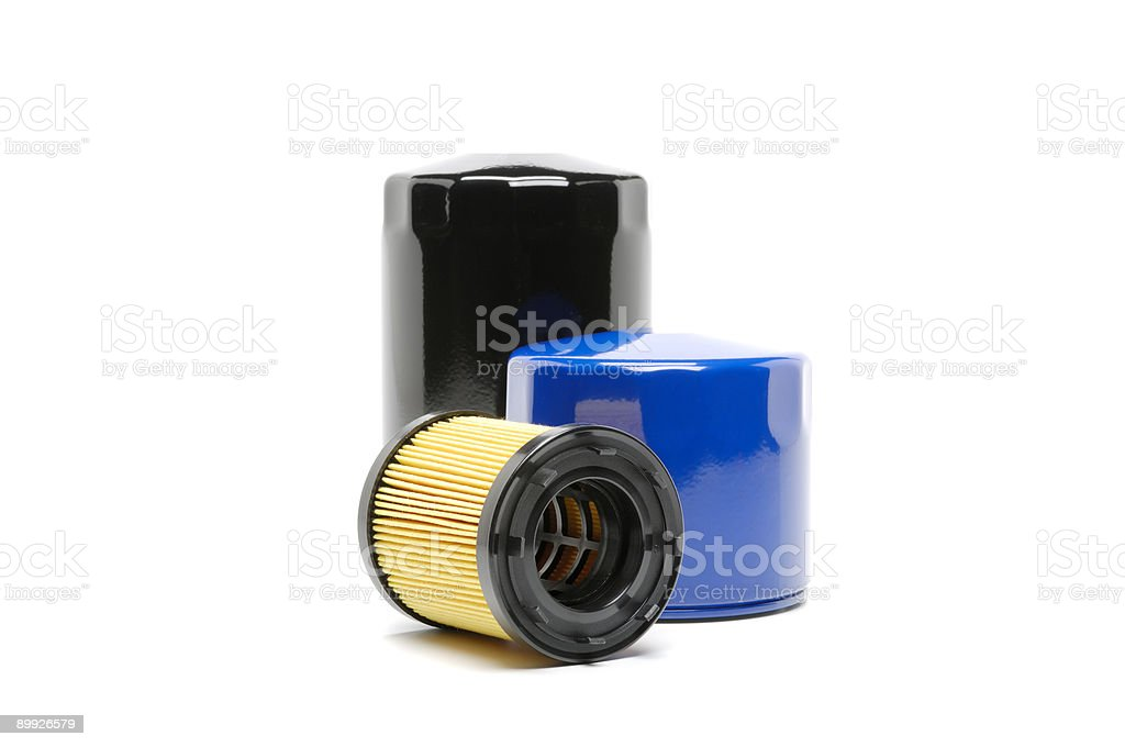 Automotive Oil Filter stock photo