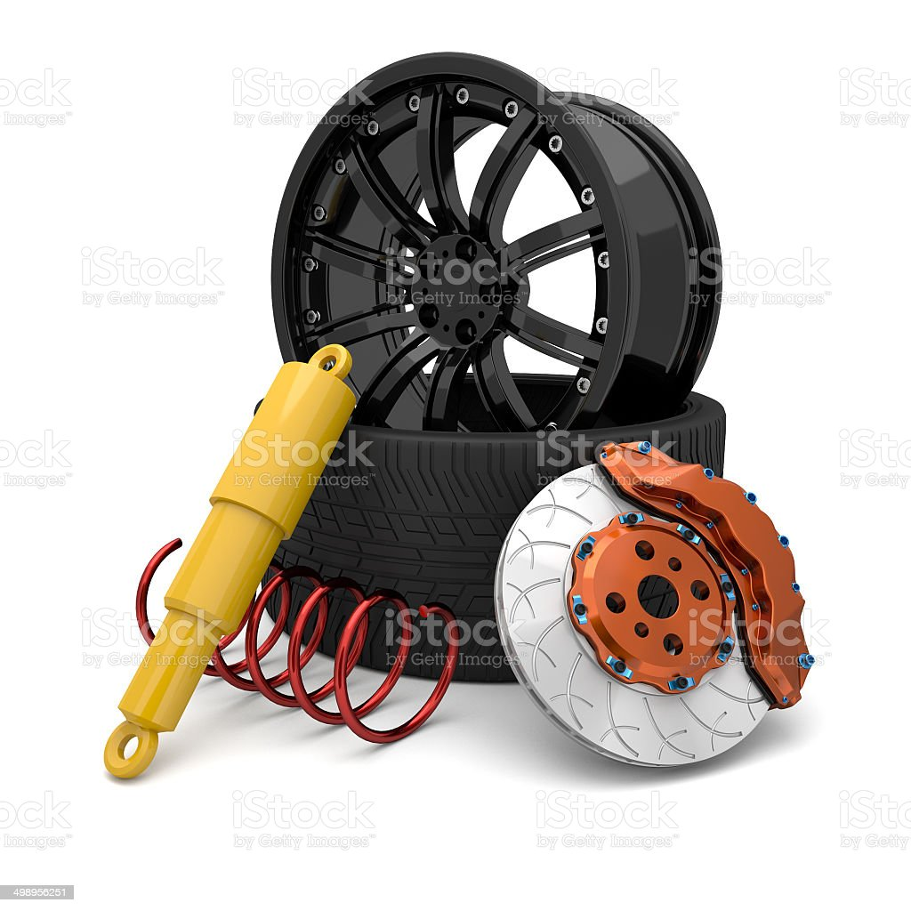 Automotive Parts. stock photo