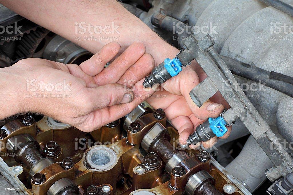 Automotive royalty-free stock photo