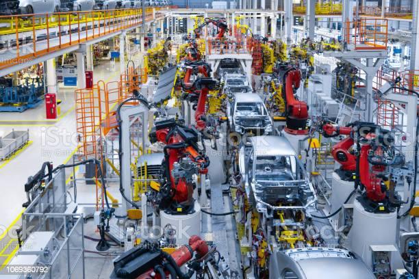 Automotive production line welding car body modern car assembly plant picture id1069360792?b=1&k=6&m=1069360792&s=612x612&h=ditov1p7sy 8mcodhyjsvbyabn2jfbajpuigixkeu24=