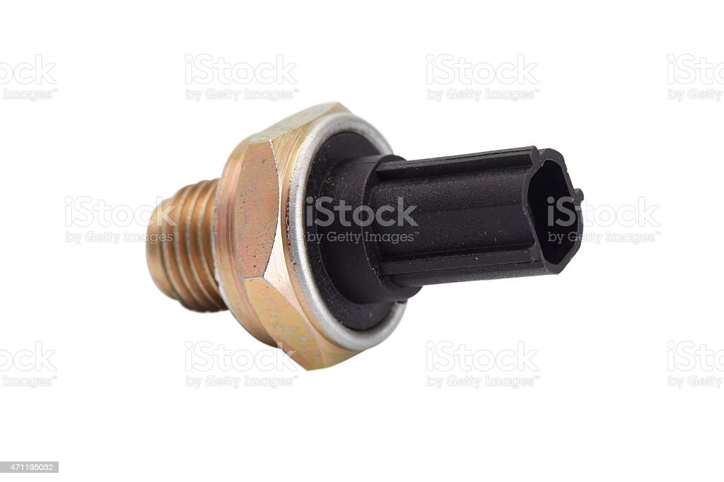 automotive sensor stock photo