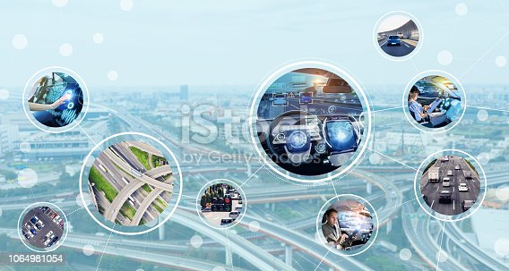 istock Automotive tehnology concept. 1064981054