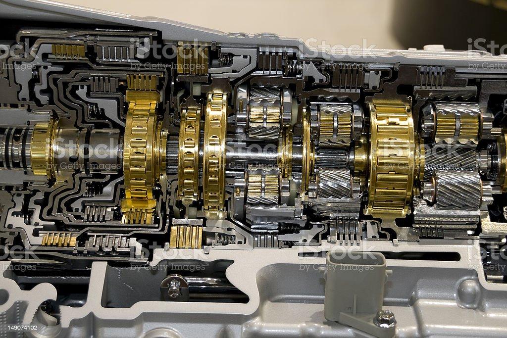 Automotive Transmission royalty-free stock photo