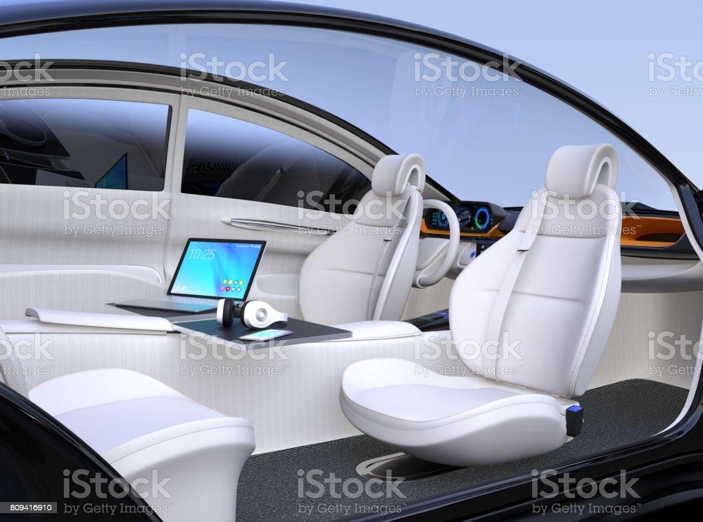 自主汽車內飾圖像檔