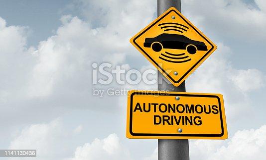istock Autonomous Driving 1141130436
