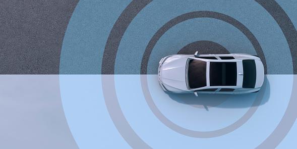 Driverless, automatic, driverless car