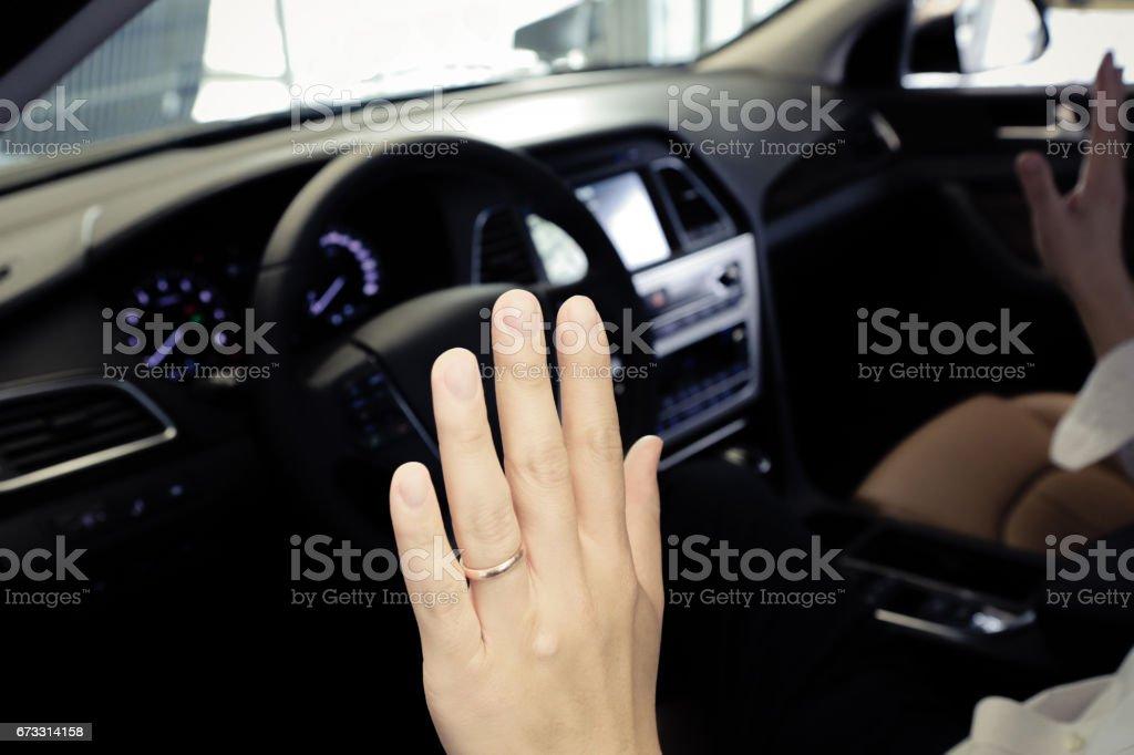 Autonomous vehicle stock photo