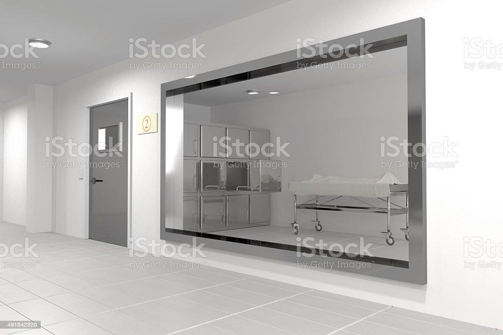 autopsy room stock photo