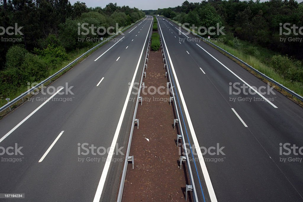 Autoroute, landscape version royalty-free stock photo