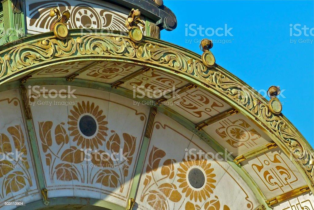 Autriche, karlsplatz, architecture, Sécession stock photo
