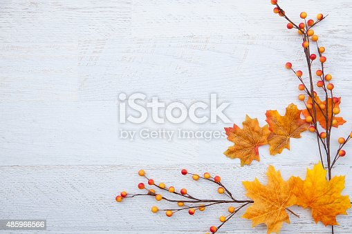 istock Autum Thanksgiving Background 485966566
