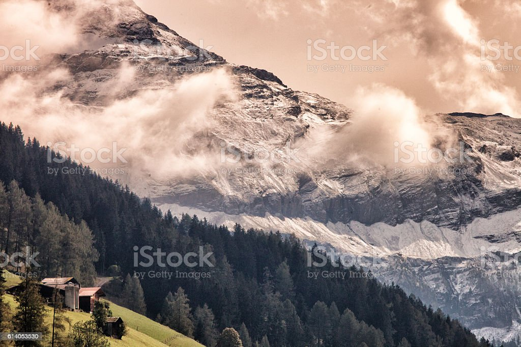 Autumn Afternoon, Swiss Alps – Foto