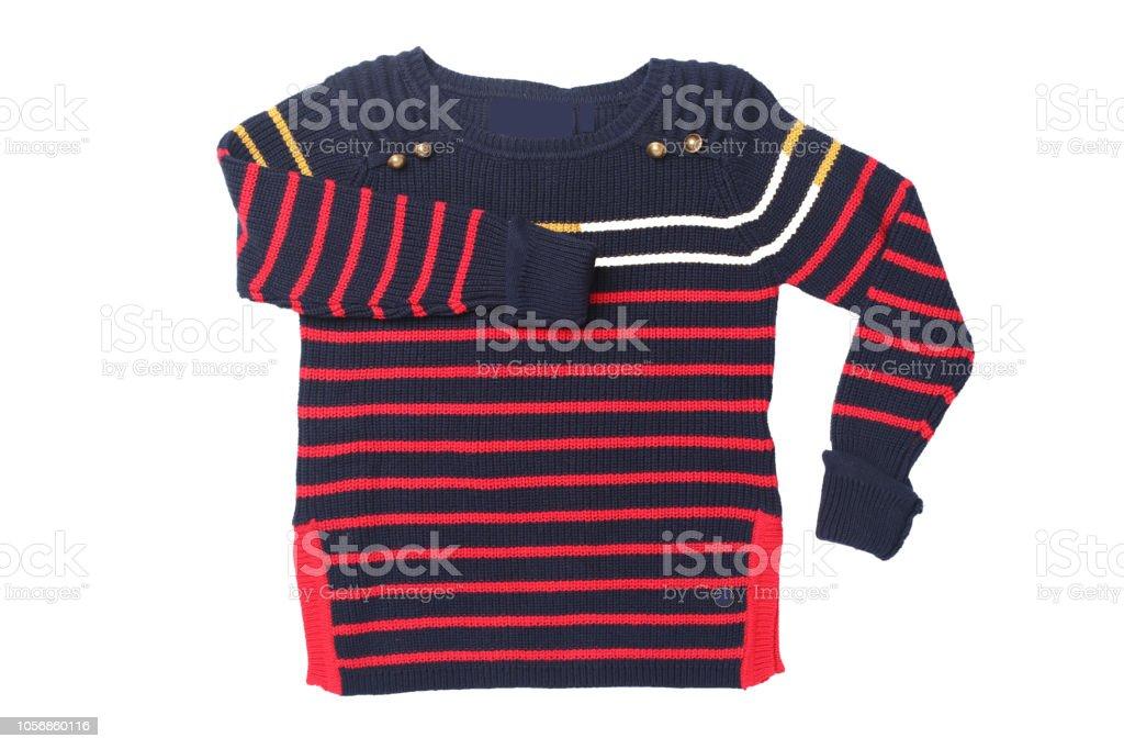 official photos a0048 eaccc Herbst Und Winter Kinderkleidung Rote Schwarz Gestreifte ...