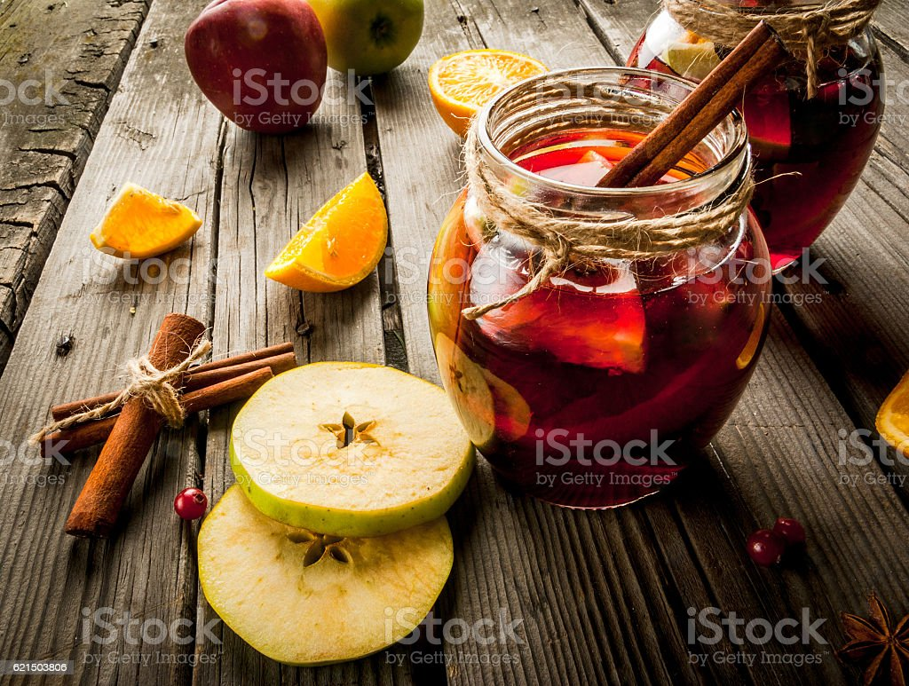Autumn and winter sangria foto stock royalty-free